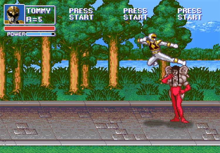 Beats of Power video game screenshot