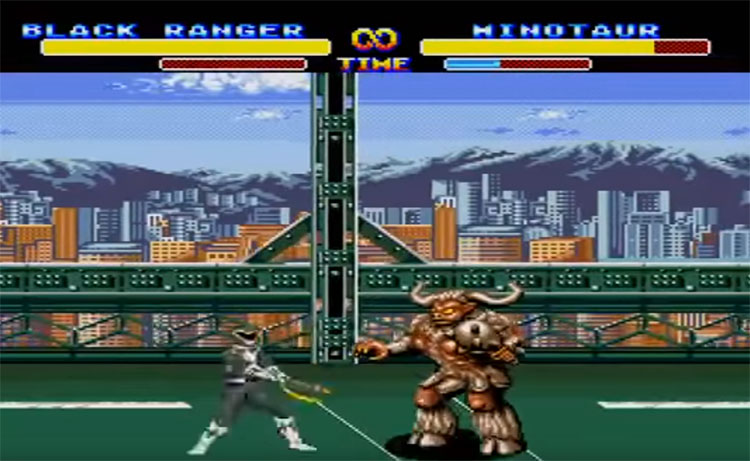 Mighty Morphin Power Rangers 1994 screenshot