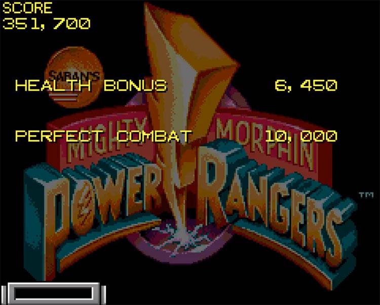 Mighty Morphin Power Rangers SegaCD screenshot