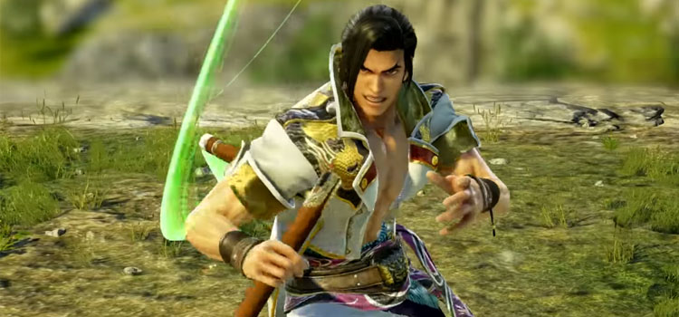 Soulcalibur 6 battle pose screenshot