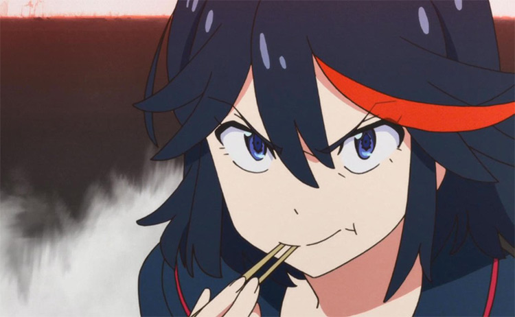 Ryuko from Kill La Kill, anime screenshot