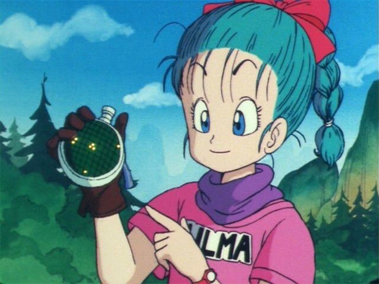 Bulma in Dragon Ball