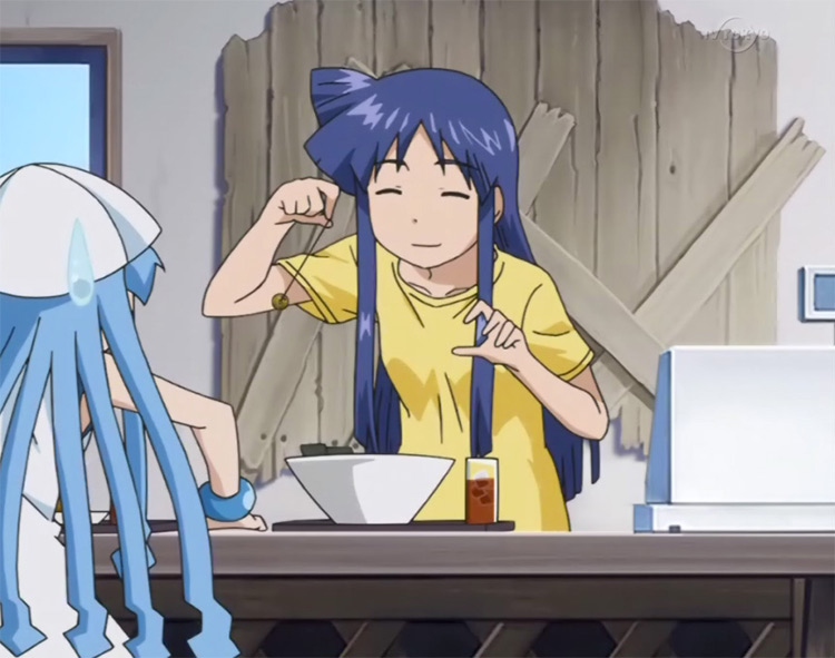 Eiko Aizawa from Squid Girl