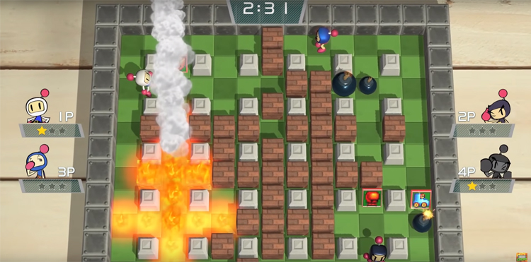 Super Bomberman R (2017) Gameplay
