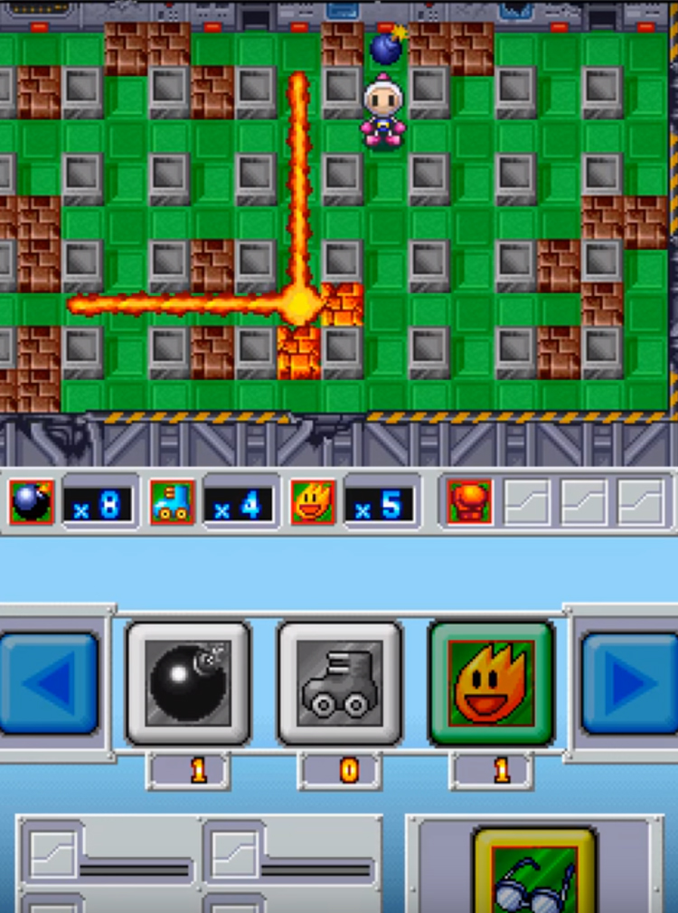 Bomberman Ds 2005 Gameplay