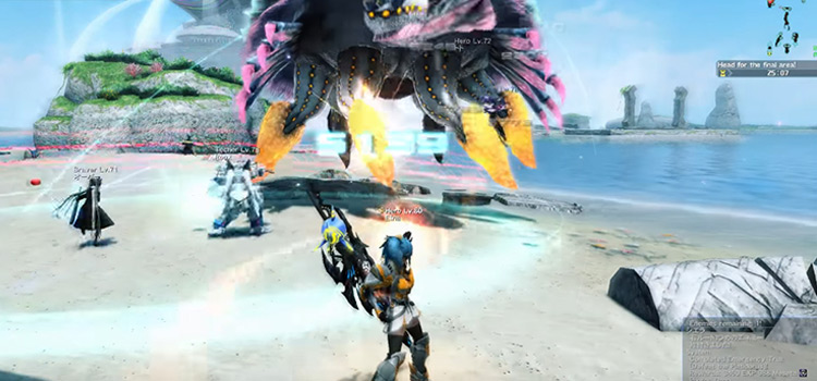 Phantasy Star Online II screenshot