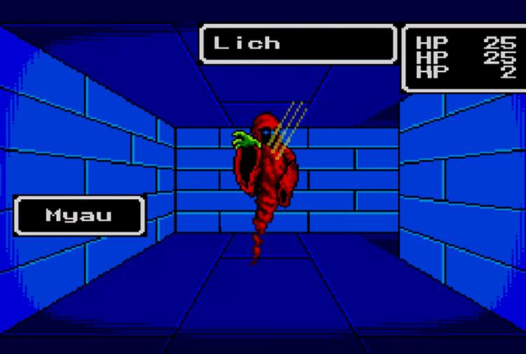 Phantasy Star (1988) Gameplay