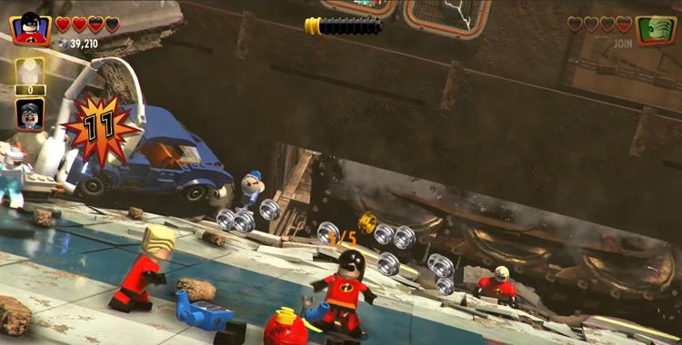 Lego The Incredibles (2018) Gameplay Walkthrough