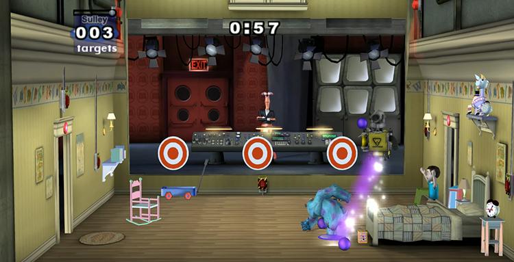Monster's Inc. Scream Arena (2002) Gamecube Gameplay