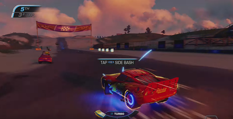 Cars 3: Driven To Win (2017) Gameplay