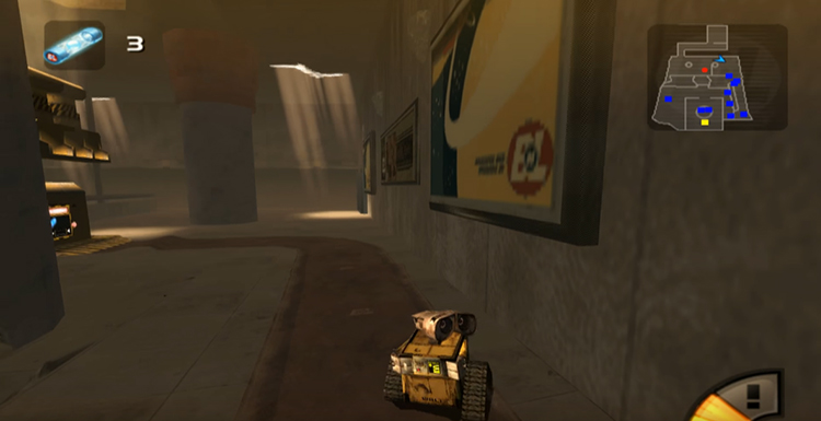 Wall-E (2008) Gameplay