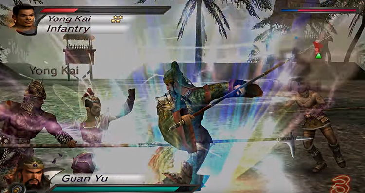 Dynasty Warriors 4 (2003) PS 2 Gameplay