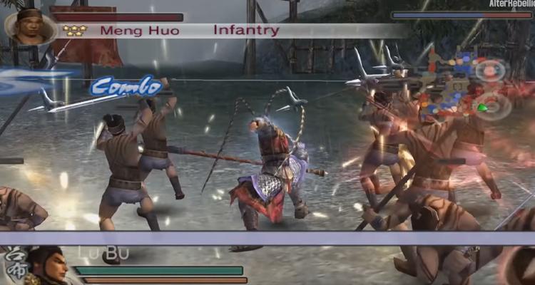 Dynasty Warriors 5 (2005) Characters skill moveset