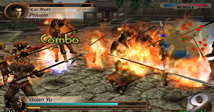 Dynasty Warriors 3 (2001) PS2 Gameplay