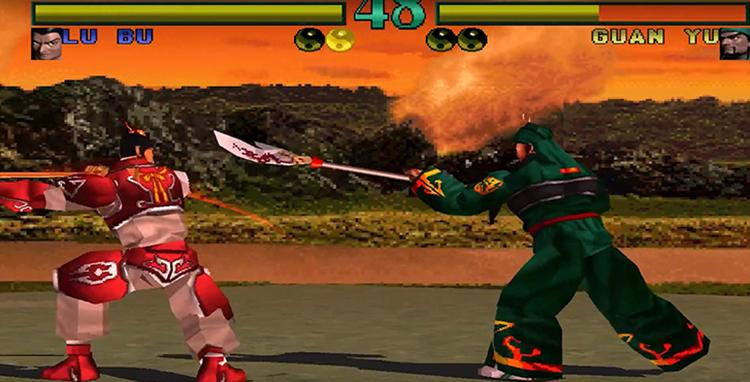 Dynasty Warriors (1997) Play as Lu Bu