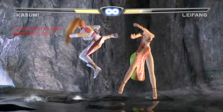 Dead or Alive 3 (2001) Xbox Gameplay