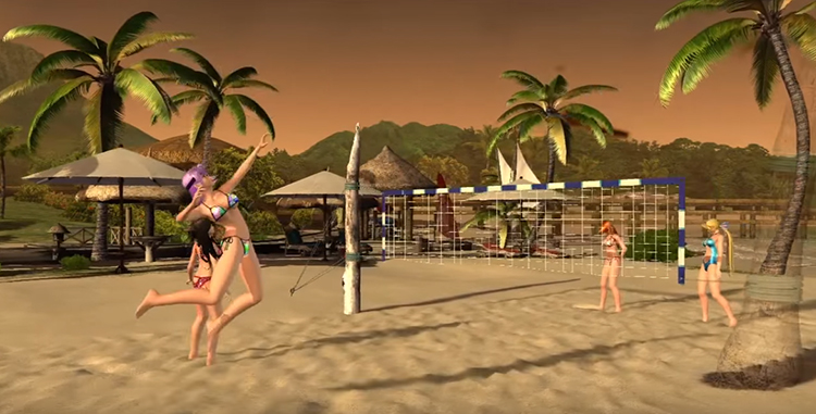 Dead or Alive Xtreme 2 (2006) Xbox360 Longplay
