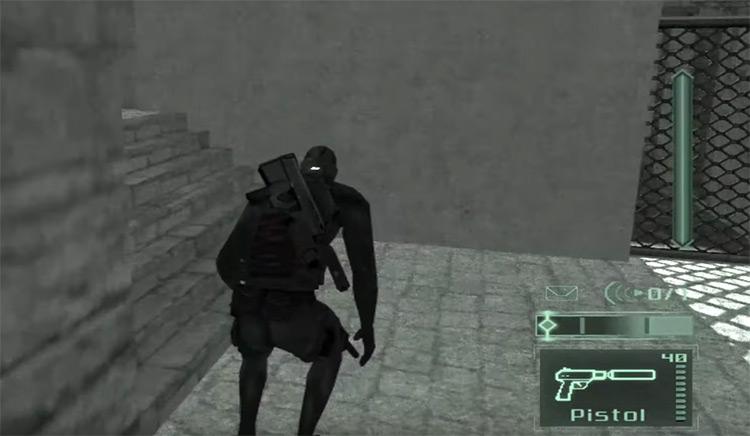 Splinter Cell: Pandora Tomorrow gameplay screen