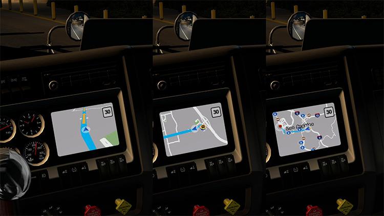 Google Maps Navigation ATS mod