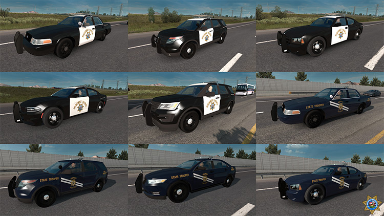 State Highway Patrol ATS mod