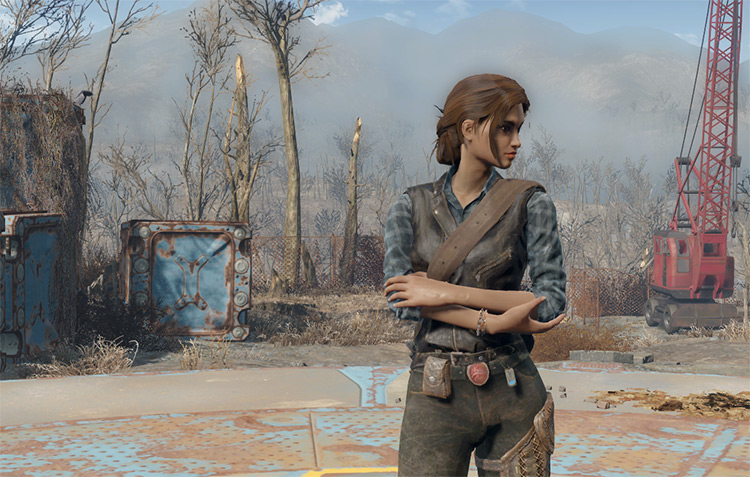 Heather Casdin companion mod Fallout 4