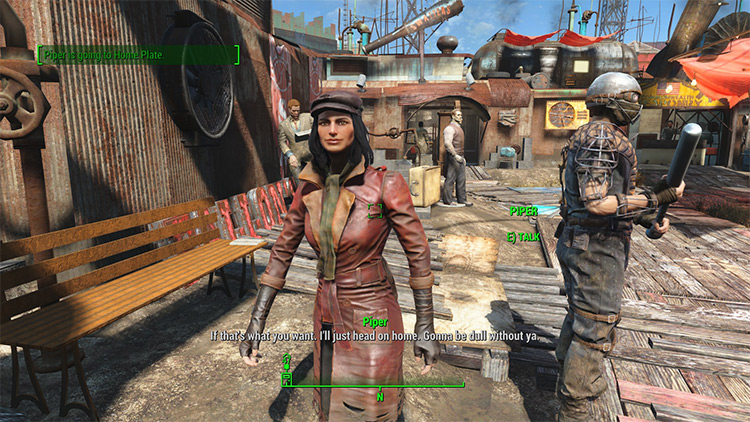 Companions Go Home in Fallout 4