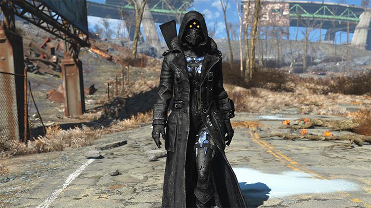 Black Widow Armor FO4