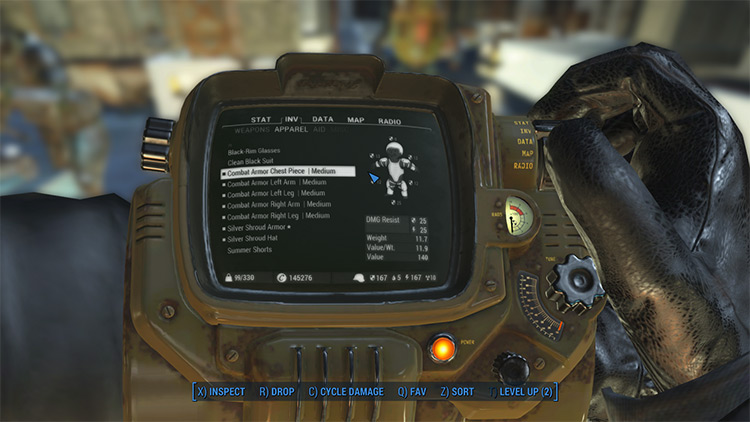 Concealed Armors in Fallout 4