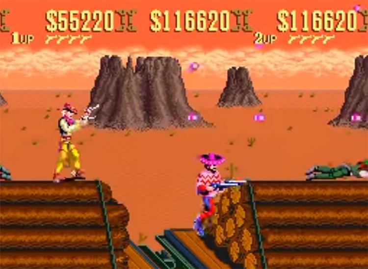 Sunset Riders SNES screenshot
