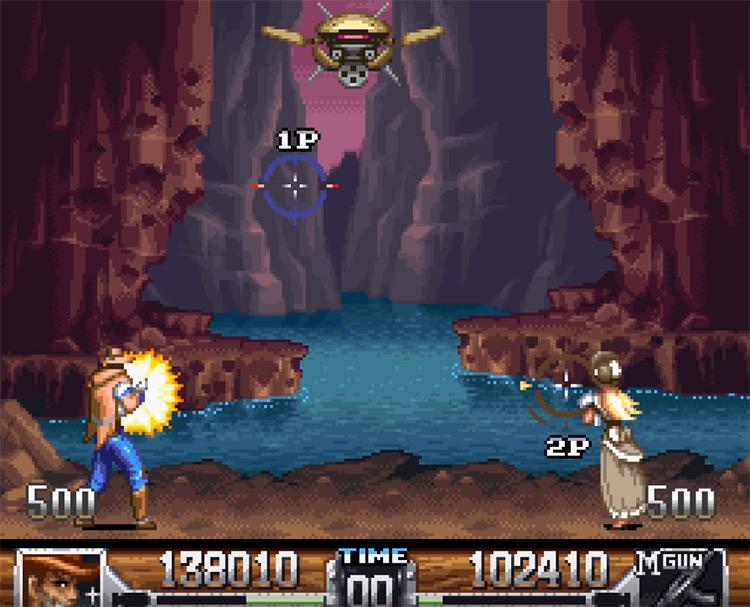 Wild Guns SNES screenshot