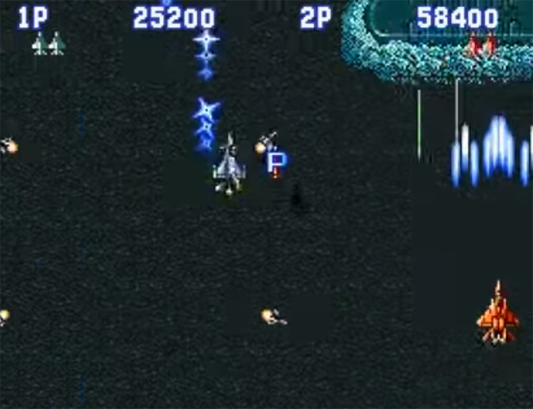 Aero Fighters SNES screenshot