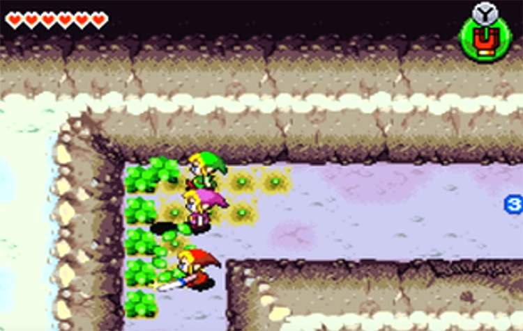 Legend of Zelda: Four Swords Adventures screenshot