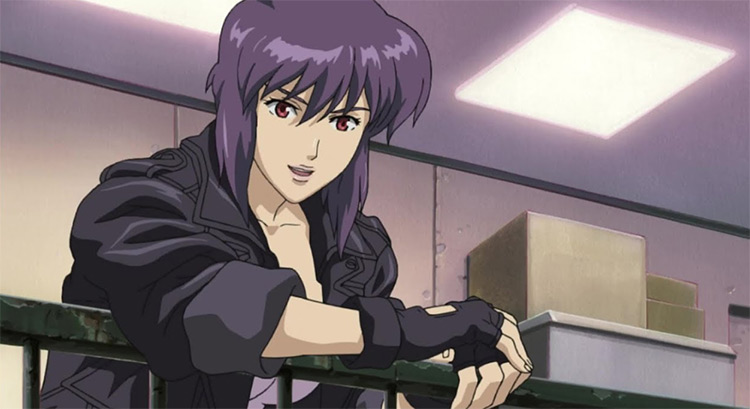 Ghost in the Shell: Stand Alone Complex screenshot of anime