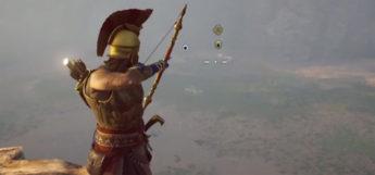 AC Odyssey, screenshot of archery bow weapon
