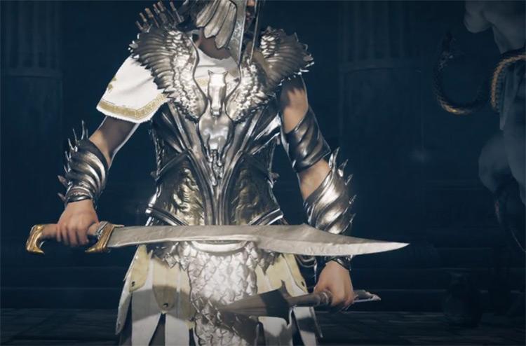 Nikolaos's Sword in AC Odyssey