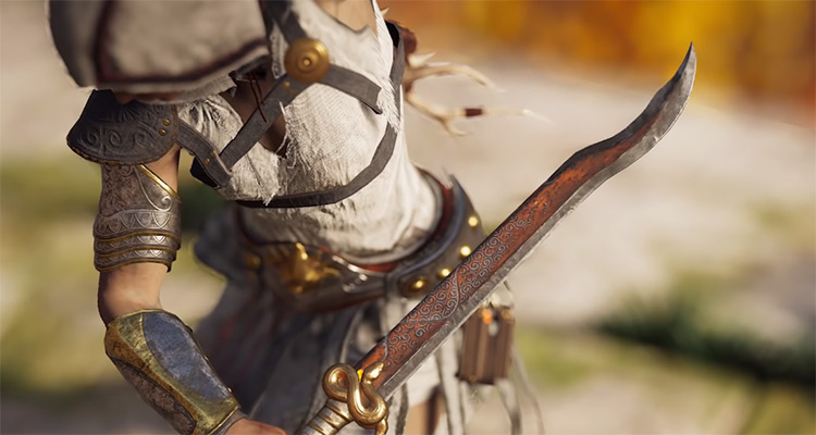 Harpe of Perseus in AC Odyssey