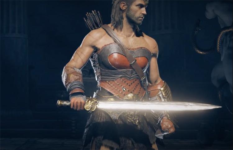 Gorgoneion Xiphos in AC Odyssey