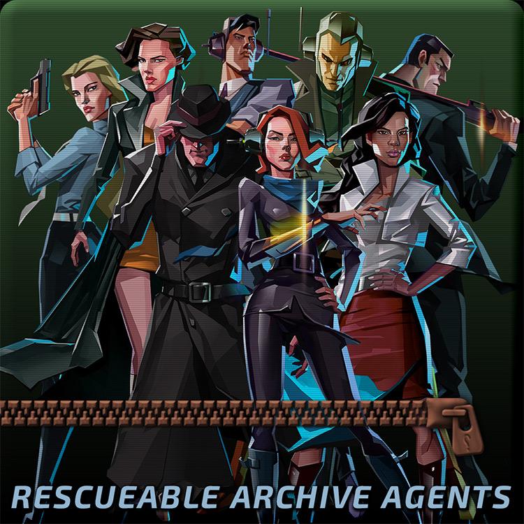 Rescuable Archive Agents mod