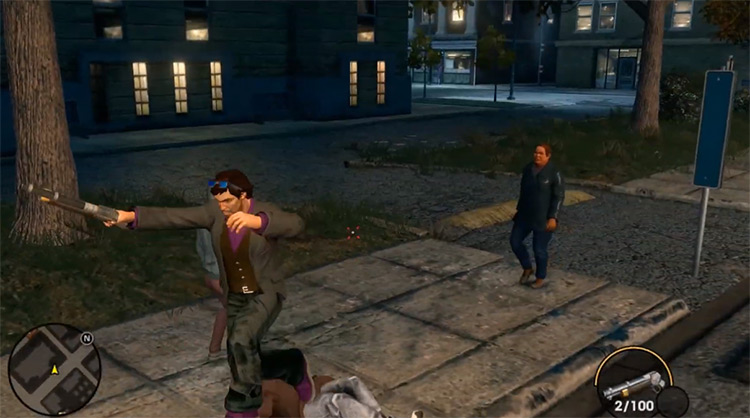 Saints Row: The Third Overhaul mod