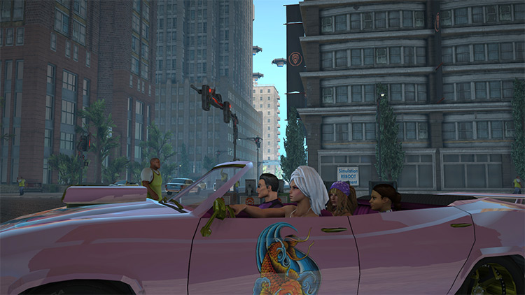 Just Get in the Damn Car SaintsRow4