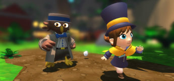 Hat in Time Conductors Village - characters screenshot