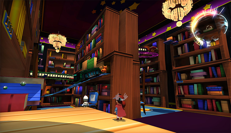 Metro Library mod