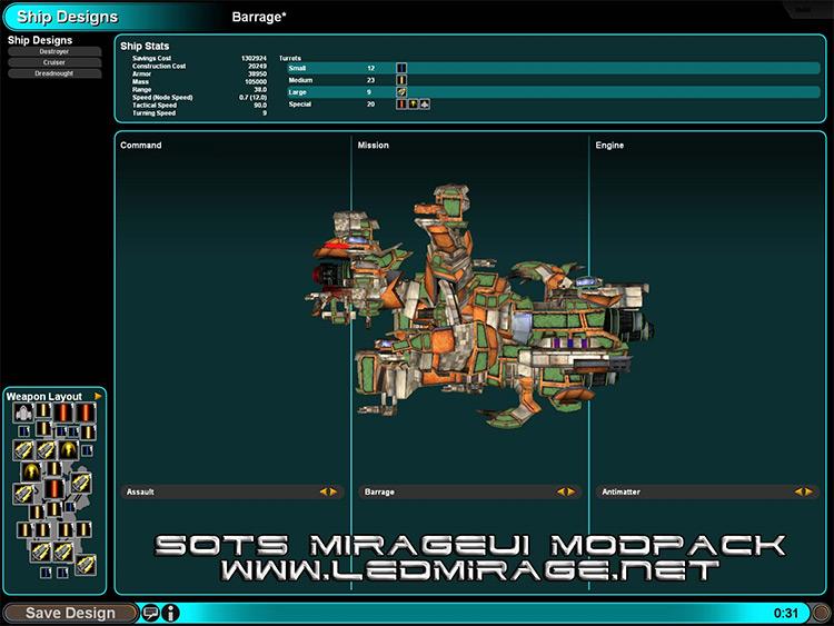 Mirage UI Modpack mod