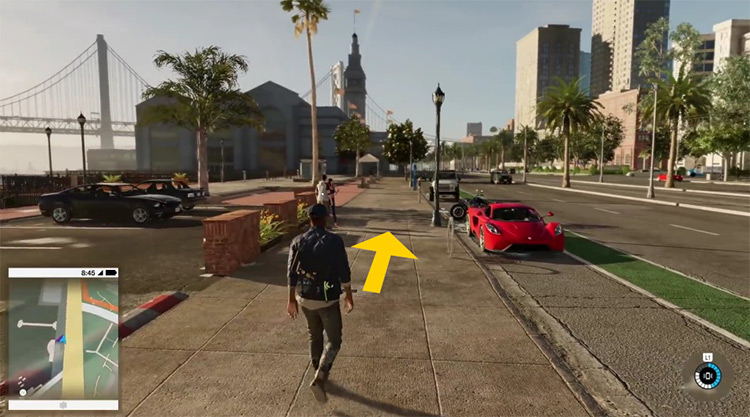 Watch Dogs 2 Autowalker mod