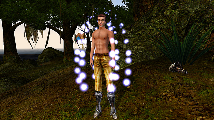 Better Bodies mod for Morrowind