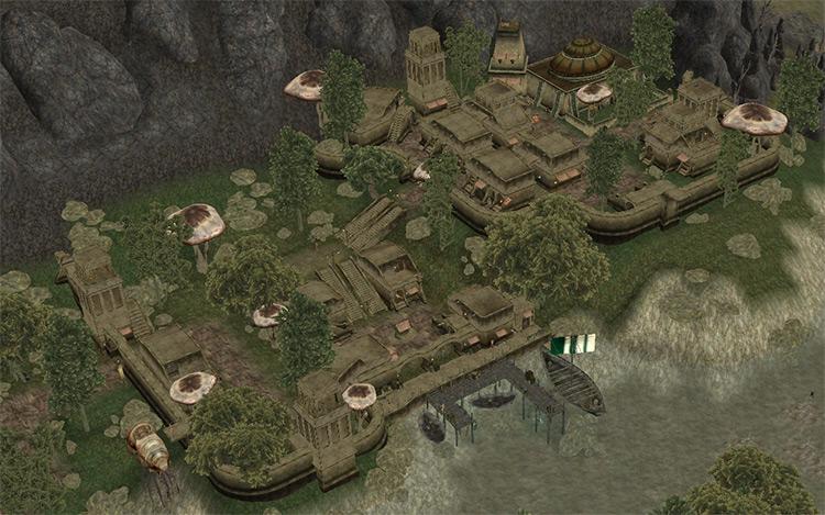 Morrowind Rebirth mod preview