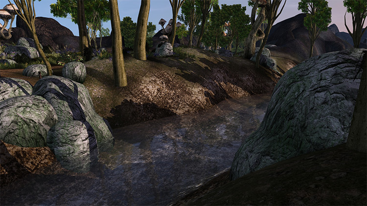 Landscape Retexture for Morrowind
