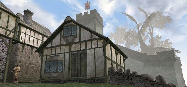 Ahnassi's home in TES 3: Morrowind