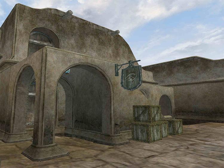 Balmora's Mage Guild Morrowind