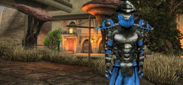 Morrowind Adamantite armor mod screenshot